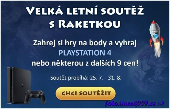 obrázek raketka.cz soutěž