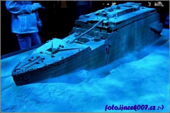obrázek model vraku lodi