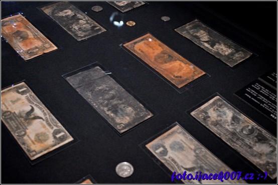obrázek vylovené peníze