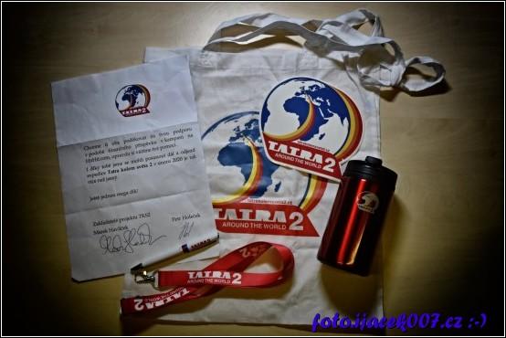 Odměny za podporu v kampaňi na portále hithit.com