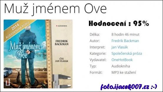 obrázek Audiokniha muž jménem Ove
