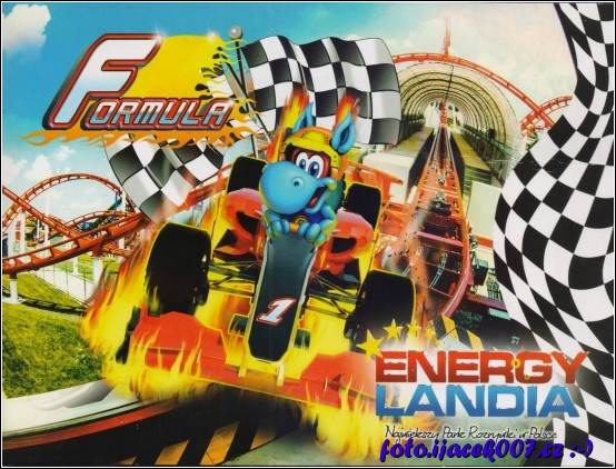 obrázek Obalka fotky atrakce Formula