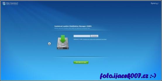 Starší modely vyžadují výběr souboru instalačního balíčku.