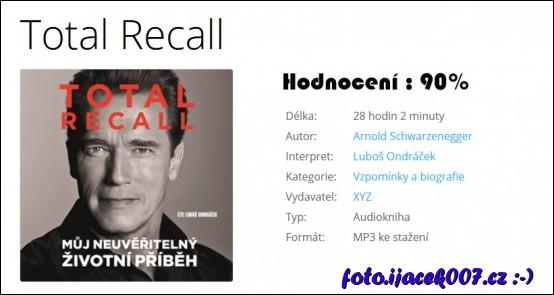 obrázek Hodnocení audioknihy Total Recall