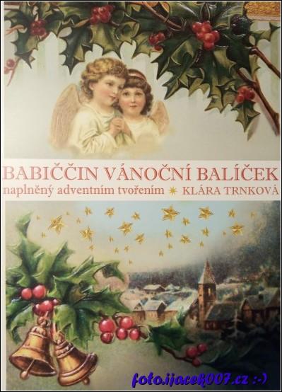 Pohled na obal knihy BABIČČIN VÁNOČNÍ BALÍČEK