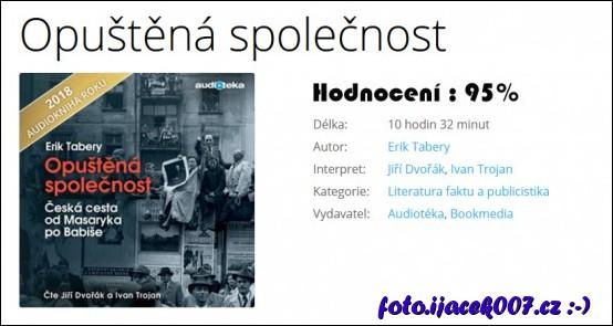 Hodnocení audioknihy Opuštěna společnost.