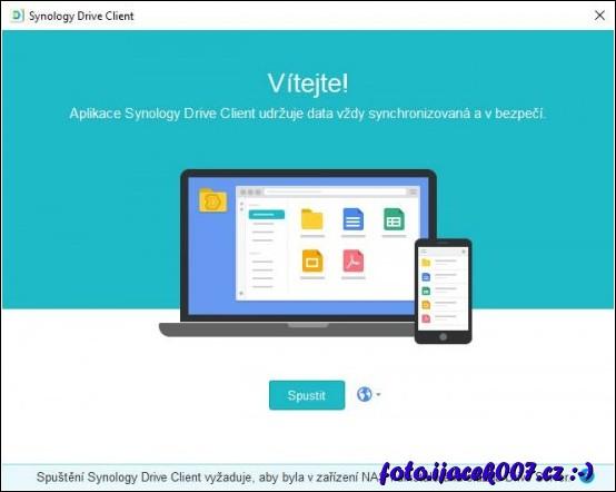 Pruvodce synchronizační aplikací na klientském pc