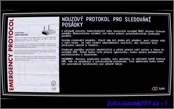 Informace ohledně bezpečnostních protokolů