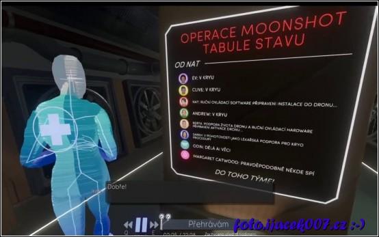 ukázka překladu hry přeložené jsou nejen dialogy ale například grafika vybavení ve hře.