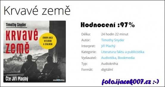 Hodnoceni audioknihy a jeji popis