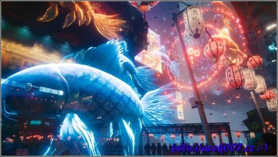 Pohled na grafickou stránku přímo ze hry jedné z hlavních misí.