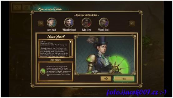 Základní hra obsahuje čtiři velitele.