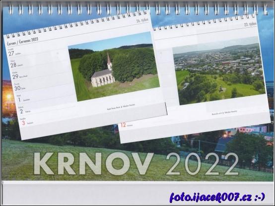 grafické znázornění kalendáře a pohled na naše fotky