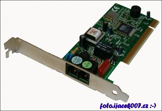 modemová karta používaná na dative přenosy rychlosti 56 kb