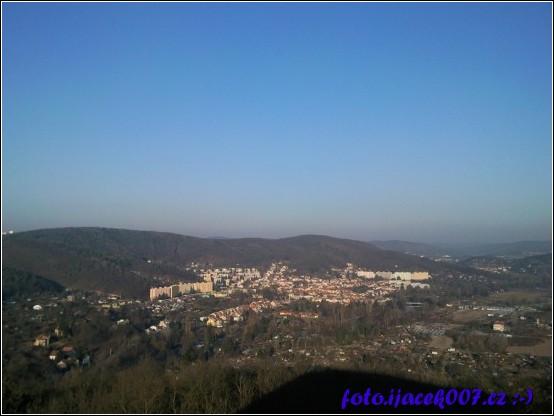 pohled na Brno