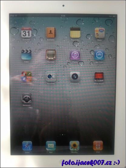 pohled do menu apple ipad 2