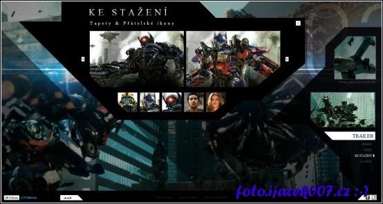 webová stránka filmu